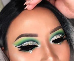 beauty, eyebrow, and hair image