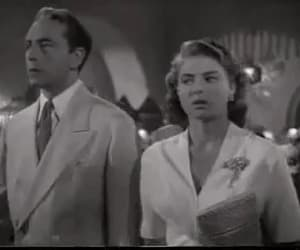 Casablanca, gif, and ingrid bergman image
