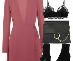 dress, mode, and Polyvore image