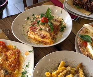 cheese, italian food, and pasta image