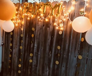 balloons, gold, and photoshoot image