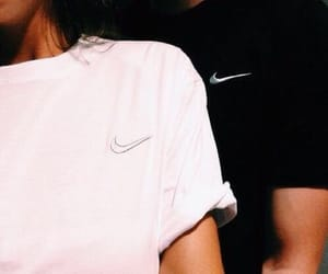 nike, couple, and Relationship image