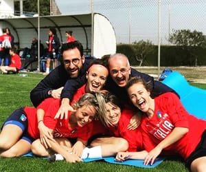 football, girls, and italy image