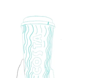 png, coffee, and outline image