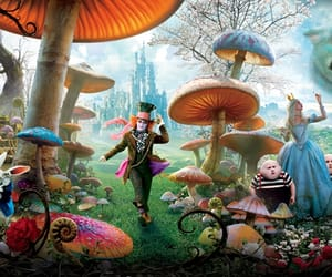 alice, alice in wonderland, and article image