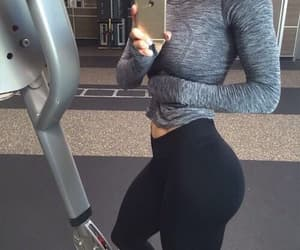 girl, gym, and sport image