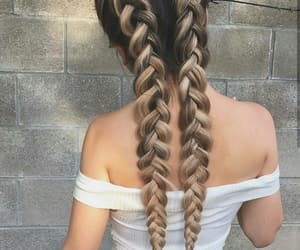 braids, fashion, and style image