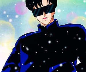 sailor moon, tuxedo mask, and anime boy image