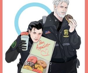 Connor, Hank, and detroit become human image
