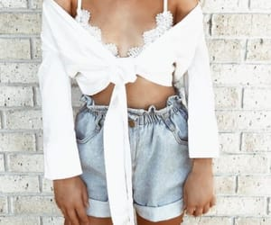 fashion, goals, and white crop top image
