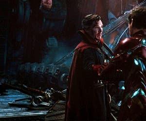 Avengers, robert downey jr, and benedict cumberbatch image