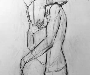 art, love, and sketch image