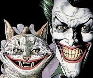 art, fangs, and joker image