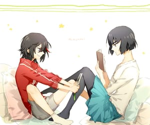 kill la kill, ryuko matoi, and satsuki image