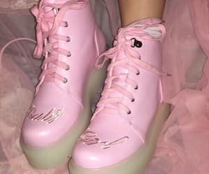pink, shoes, and aesthetic image
