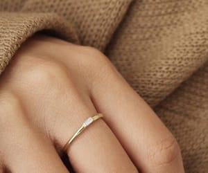 rings, beige, and gold image