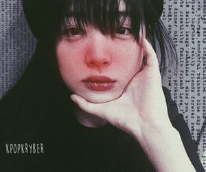 black, choi jinri, and kpop edit image