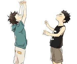 hq, iwazumi hajime, and haikyuu image