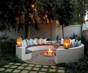 home, backyard, and decor image