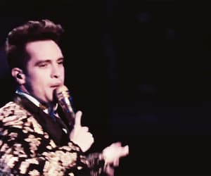 funny face, gif, and brendon urie image