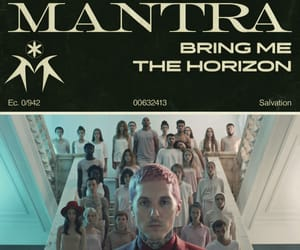 bmth, bring me the horizon, and Mantra image