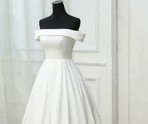 simple prom dresses, prom dresses long, and prom dresses white image
