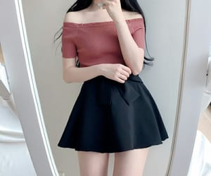 kfashion and korean fashion image