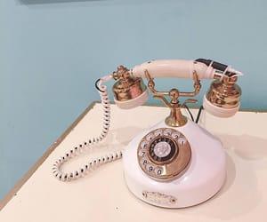 phone, retro, and cute image