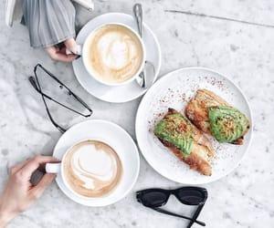 food, coffee, and avocado image