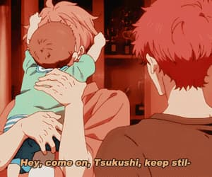 anime, asakisu, and gif image