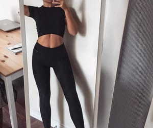 beauty, fashion, and fit image