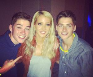 jack harries, jenna marbles, and finn harries image