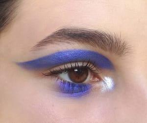art, cosmetics, and eyeshadow image