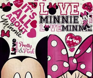 disney, minnie mouse, and wallpaper image