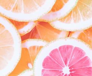 background, orange, and pastel image