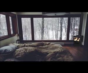 cozy, snow, and warmth image