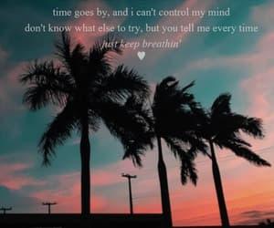 album, Lyrics, and breathin image