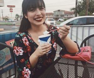 amor, helado, and makeup image