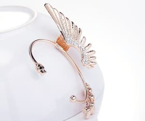 accessories, angel, and earings image