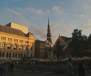 architecture, latvia, and riga image
