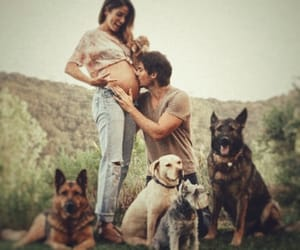 nikki reed, baby, and couple image