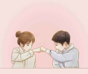 descendants of the sun, dots, and wallpaper image