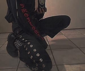 goth, grunge, and style image