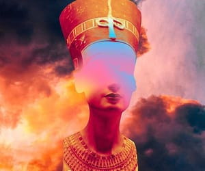 edit and nefertiti image