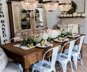 autumn, chandelier, and decor image