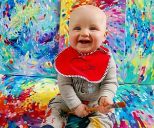baby and colours image