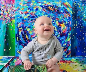 baby, colours, and baby & colors image