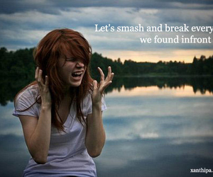 girl, quote, and nature image