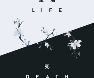 death, pattern, and love image