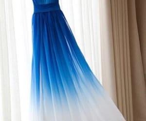 women fashion and blue bridesmaid dresses image